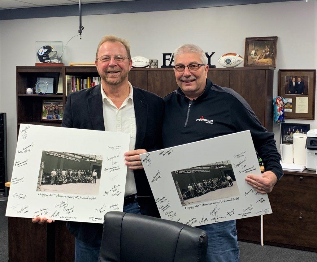 Bob Bachinger and Rick Fryda